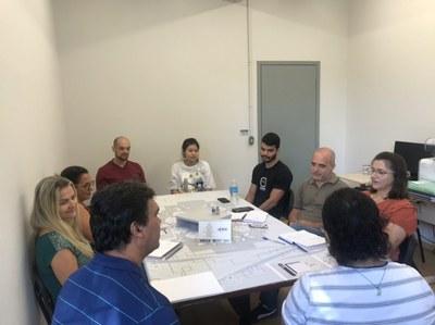 Parte dos membros esteve reunido para discutir as próximas ações da CPA.